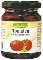 Päikesekuivatatud tomatid oliiviõlis 120g Rapunzel