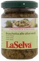 Bruscetta rohelistest oliividest 130g LaSelva