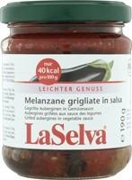 Grillitud baklazaan köögiviljakastmes 190g LaSelva