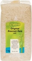 Basmati riis, valge 1kg Rapunzel