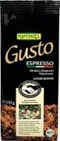 Kohvioad Gusto Espresso 250g Rapunzel