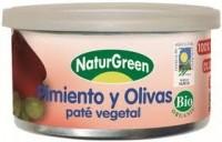 Paprika-oliivipasteet 125g Naturgreen