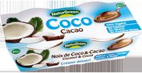Naturgreen Kookosedessert kakaoga 2x125g