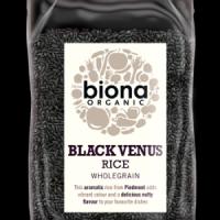 Biona Must riis Black Venus 500g