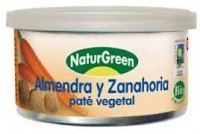Naturgreen Mandli-porgandipasteet 125g