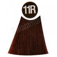 Color Soin püsiv juuksevärv taimeekstraktidega mustika punane
