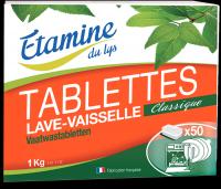 Nõudepesutabletid aktiivhapnikuga 50tk/1kg Etamine du lys