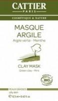 Cattier Rohelise savi mask rasusele nahale 12,5ml