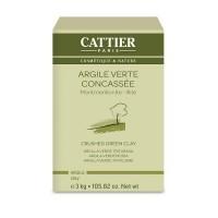 Cattier Roheline savi purustatud 3kg