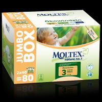 Moltex nature Midi Jumbo mähkmed (4-9kg)