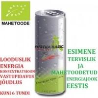 ENERGIAJOOK MATCHA MAGIC (ÖKO) MAHETOODE
