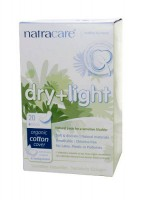 Natracare dry+light sidemed 20tk