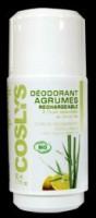 Rulldeodorant tsitrusõliga (vahetatav sisu) 50ml Coslys